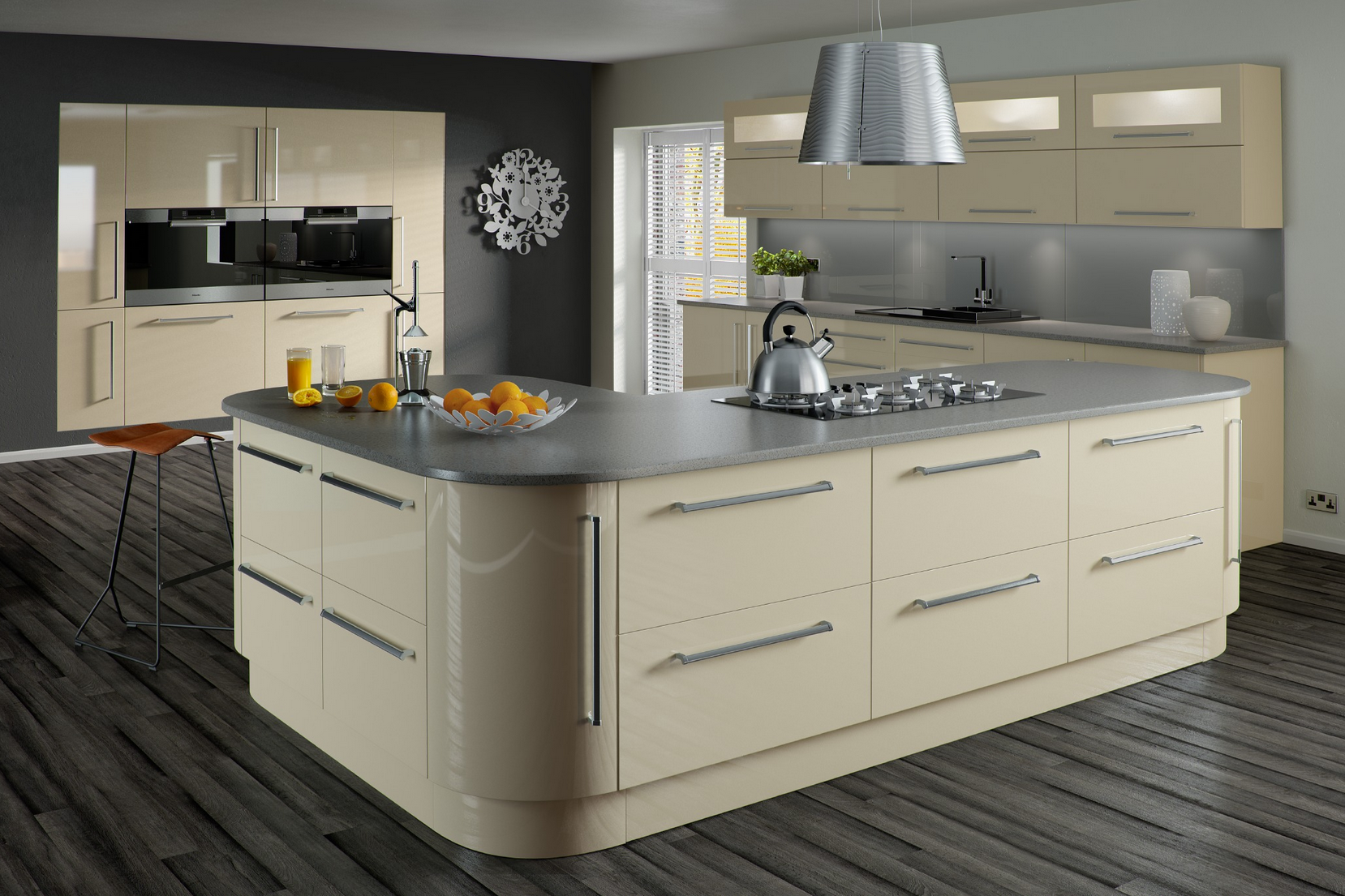 Best Cherry Cabi s With Granite Countertops as well King Platform Bed With Storage Drawers additionally Beige High Gloss Kitchen Cabi s likewise Beautiful Small Kitchen likewise Formica Laminate Elemental Concrete Countertops. on black kitchen cabinets
