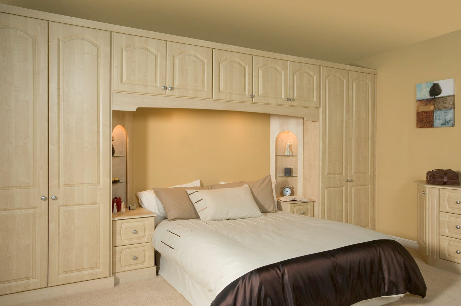 Sherwood maple fitted bedroom furniture proline cabinets - Image for bed room ...