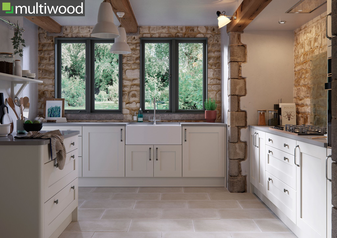 Multiwood Eastdon Calico Kitchen