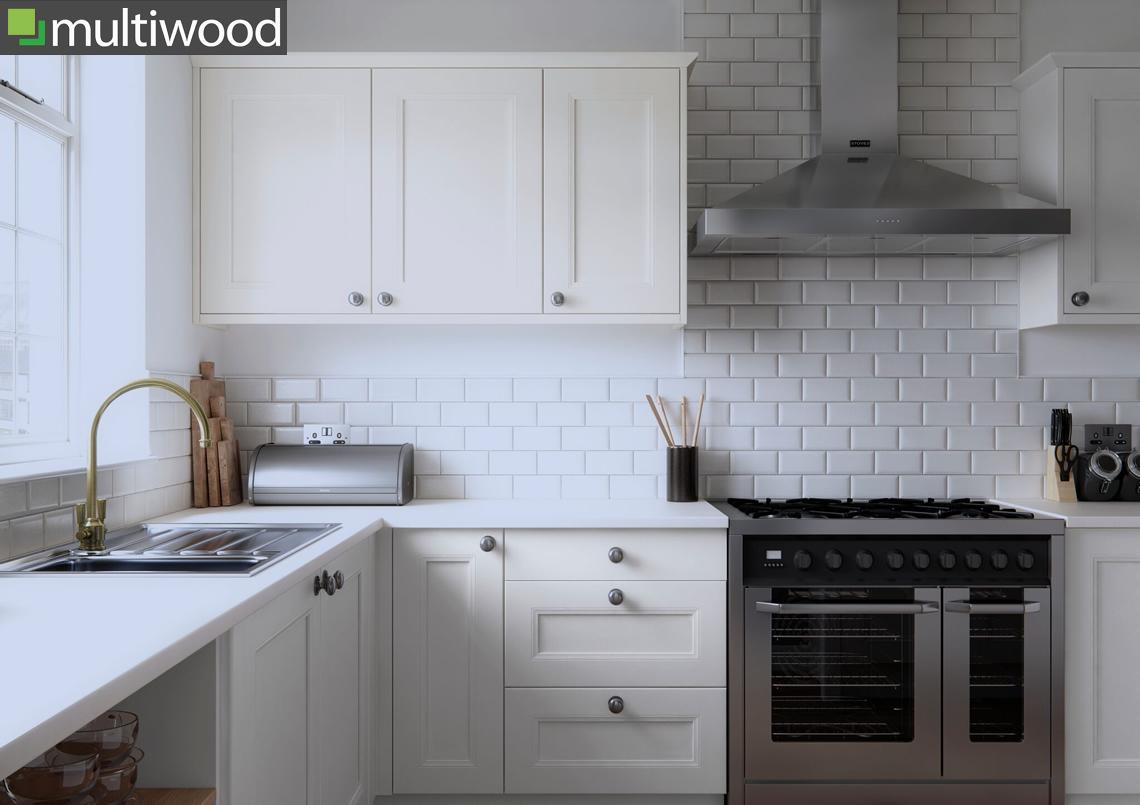 Multiwood Farringdon Beaded Kitchens