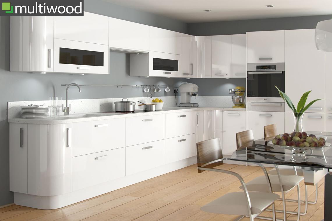 Multiwood Haddington White Kitchen