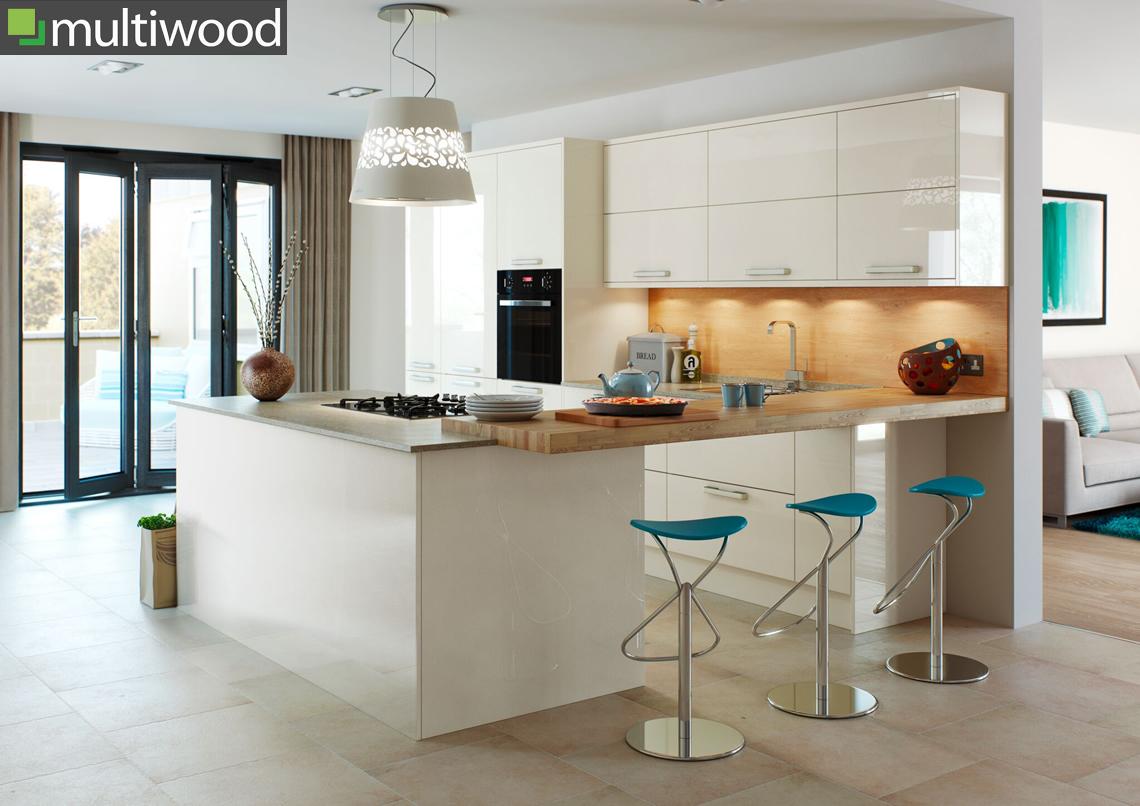 Multiwood Hameldown Cream Kitchen