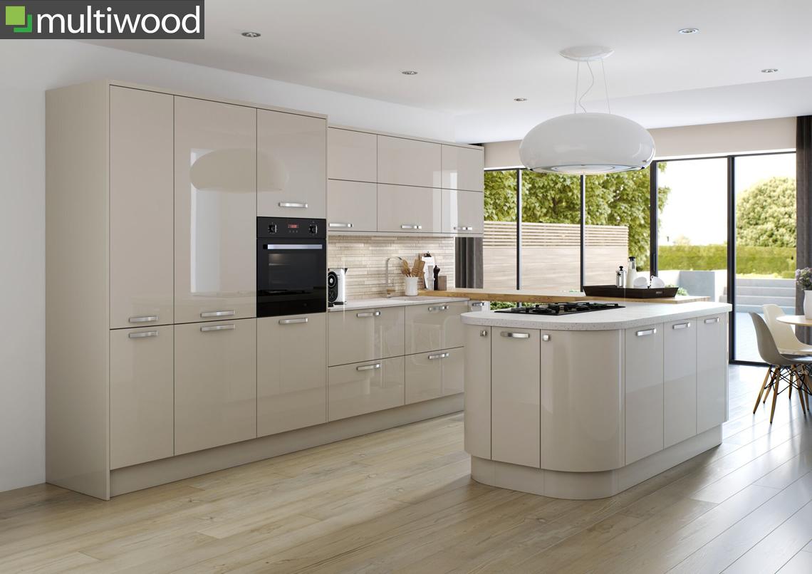 Multiwood Hameldown Dune Kitchen
