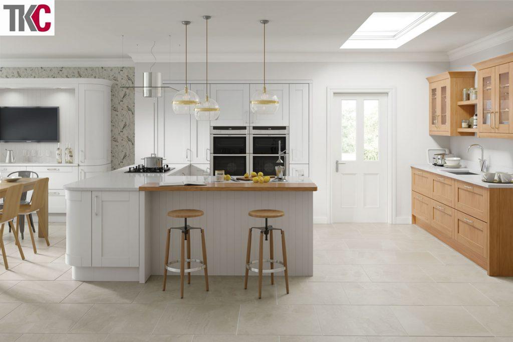 TKC Cambridge Light Grey Kitchen