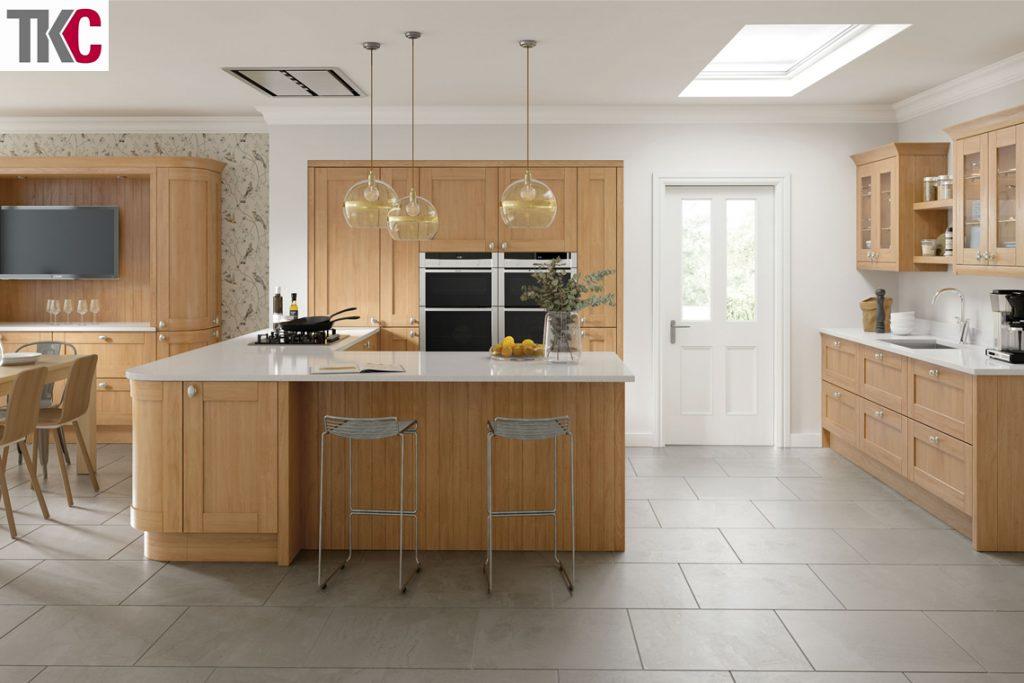 TKC Cambridge Oak Kitchen