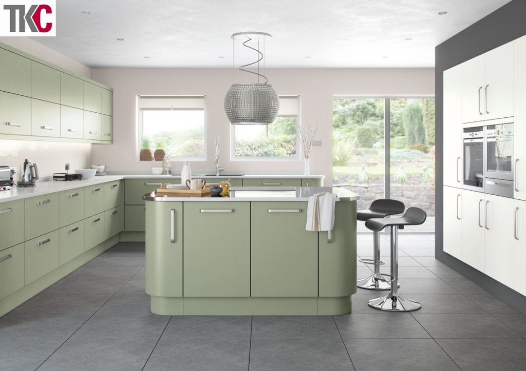 TKC Imola Hand Painted French Grey Kitchen