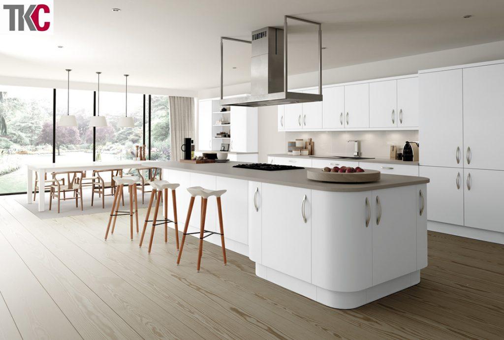 TKC Imola White Kitchen