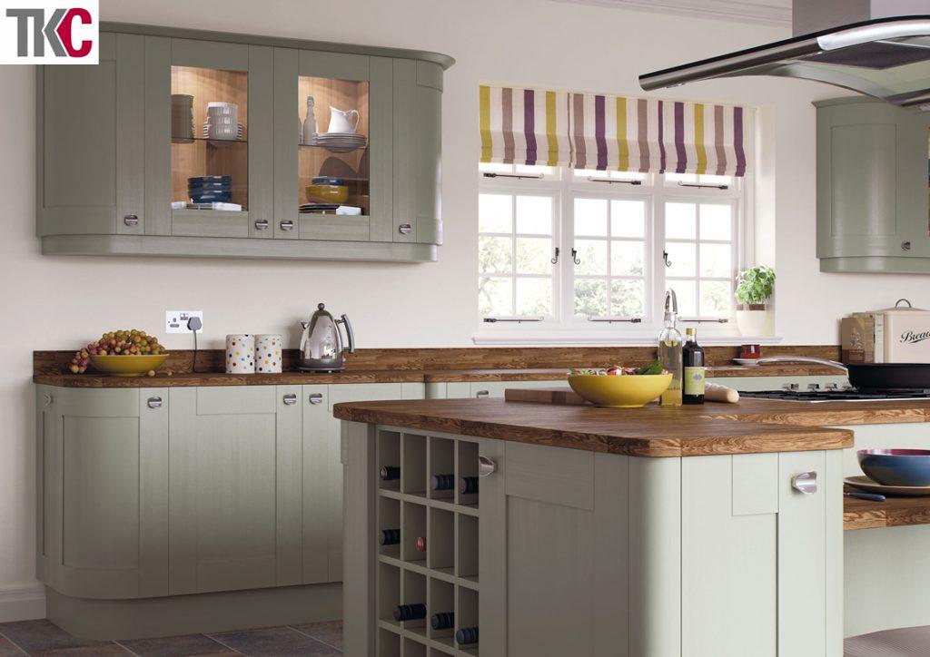 TKC Richmond Hand Painted French Grey Kitchen