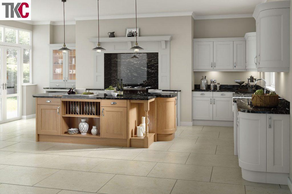 TKC Windsor Light Grey Kitchen