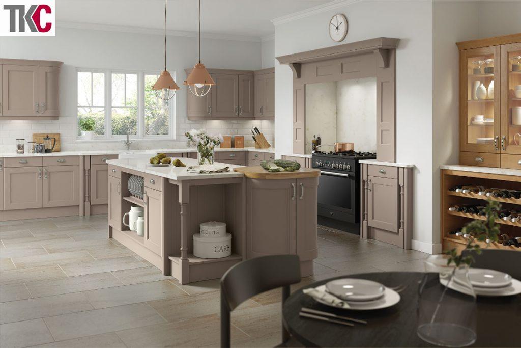 TKC Windsor Stone Grey Kitchen