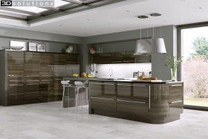 Trademouldings Odyssey Mira Cosa Gloss Kitchen