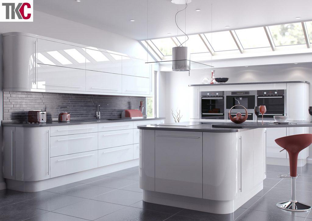 TKC Vivo White Kitchen